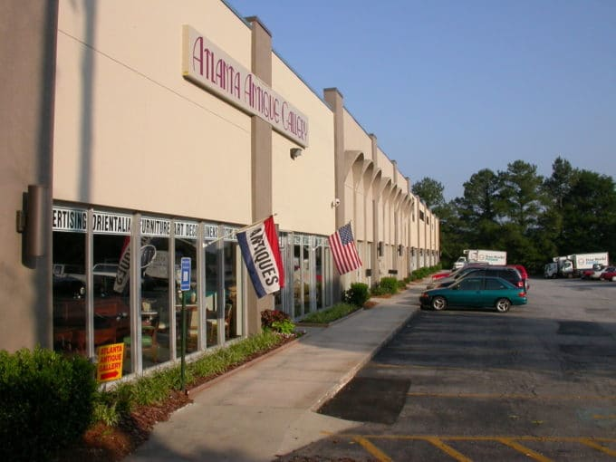 3550 Broad Street Exterior Building Commercial Real Estate Chamblee Georgia | Mimms Enterprises